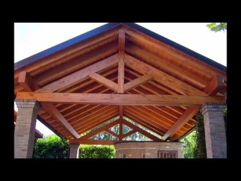 Capriata 2 youtube for Particolari costruttivi capriata in legno