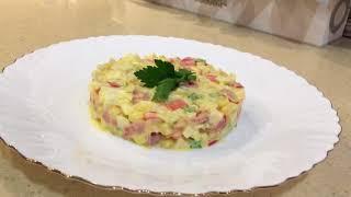 Рецепт вкусной, сочной УТКИ к Новогоднему столу! И любимый салат из крабовых палочек!
