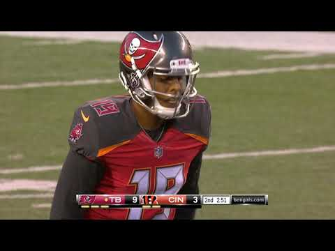 Roberto Aguayo Misses An Extra Point! |Buccaneers vs Bengals Preseason|