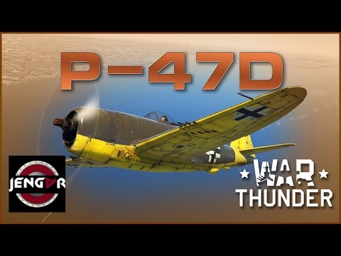 War Thunder Premium Review: German P-47D [Hitlerbolt]
