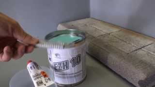 Chemos EZH 10 epoxidová penetrace bariéra proti vlhkosti
