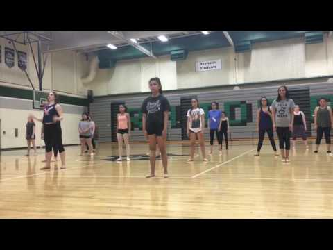 Dance tryouts 2016: Halsey - Castle