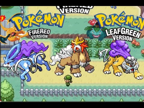 How To Get Entei/Suicune/Raikou In Pokémon FireRed/LeafGreen Version