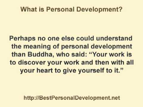meaning and definition of personal development plan Increased personal growth and development is the goal of a wide range of men and women it includes those who suffer from problems in their relationship with others, or who suffer emotionally with feeling of low self-esteem , anxiety , or depression .