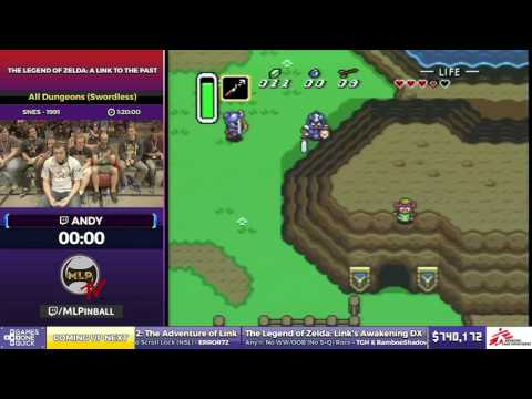 The Legend of Zelda: A Link to the Past by Andy in 1:14:58 - SGDQ2017 - Part 104