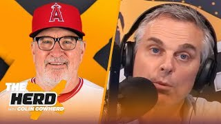 Joe Maddon wouldn't mind MLB playing in empty stadiums, talks Angels, Cubs World Series | THE HERD