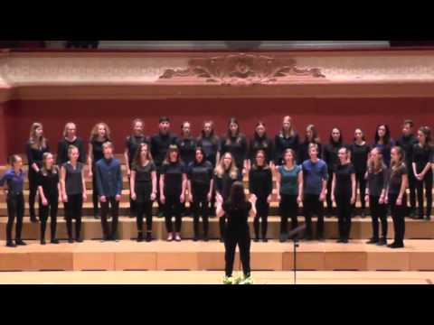 Chor Gymnasium Bäumlihof: Music with her Silver Sound, EJCF Basel 2016