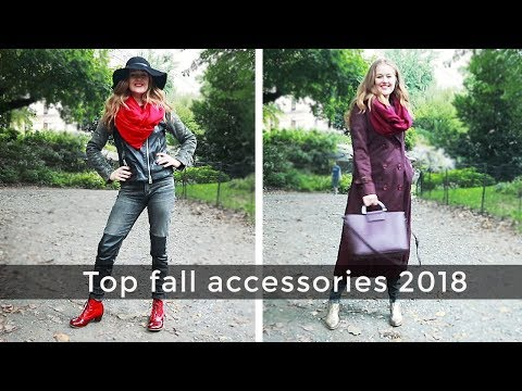 Top fall accessories 2018 - Fall Style Guide 2018 for women over 40