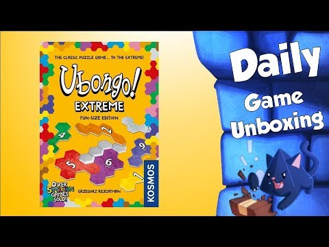 Daily Game Unboxing - Ubongo Extreme