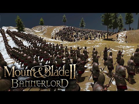 250 Palace Guard Vs 1250 Peasants - Bannerlords MOD - Mount & Blade II: Bannerlord