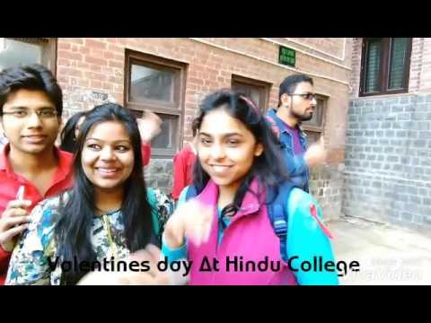 VALENTINES Day At Hindu College || Disha Patani as Damdami mata || 😂 || VLOG