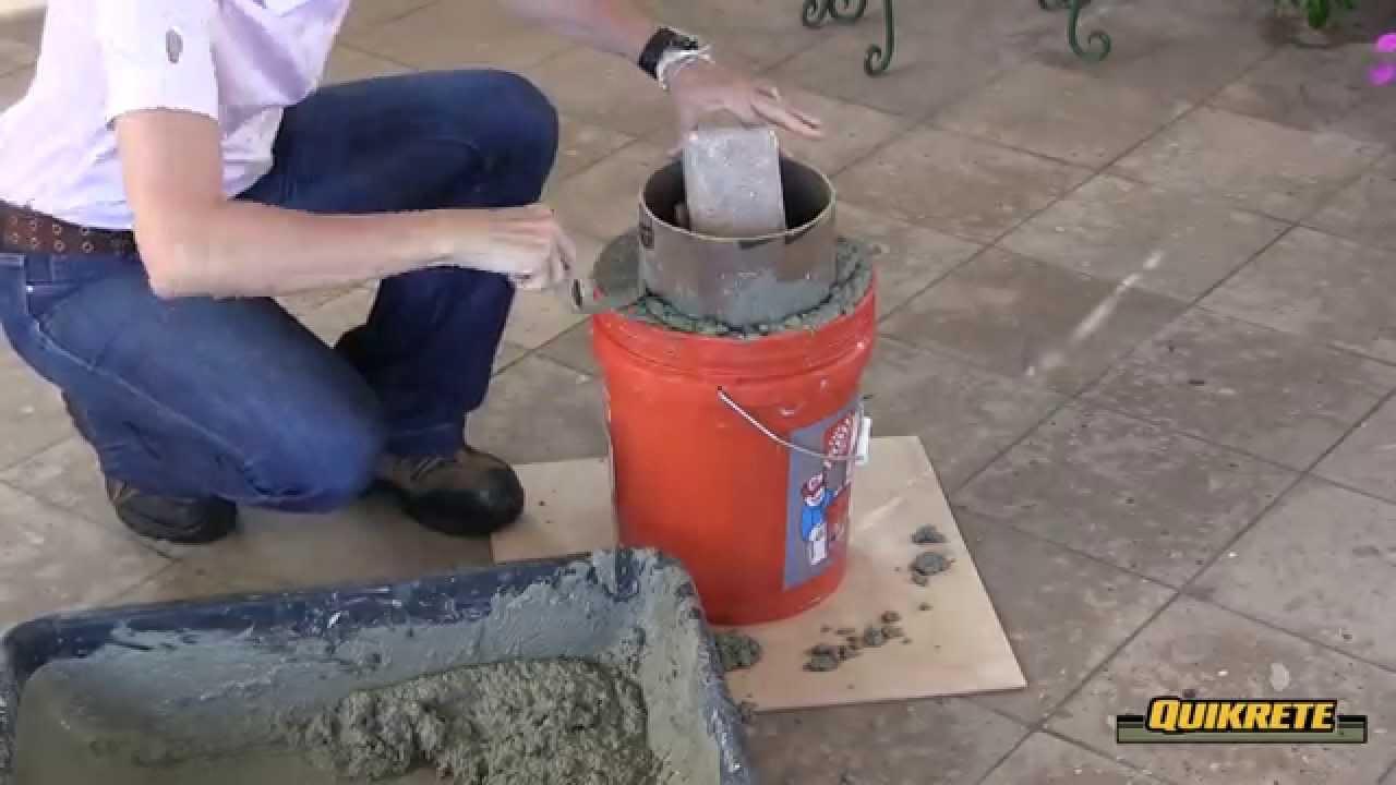 Ideas concretas c mo hacer un taburete de jard n en for Ideas para hacer un jardin