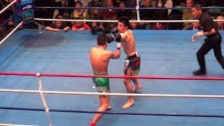 瀬戸口勝也(1位) VS 内田雅之(王者) 日本フェザー級タイトルマッチ