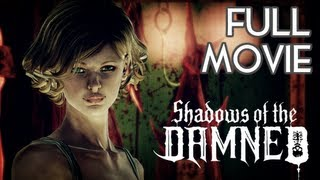 Shadows of the Damned - FULL MOVIE [HD] Xbox 360 PS3 (Complete Walkthrough)