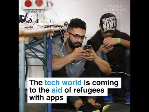 The tech world is coming to the aid of refugees with apps