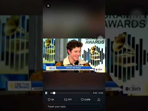 Shawn Mendes BEST POP VOCAL ALBUM GRAMMY AWARDS.