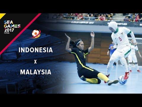 INDONESIA (2) - (1) Malaysia - Futsal Putri Sea Games 2017