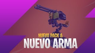 NEW PACK AND PROXIMA WEAPON - FORTNITE BATTLE ROYALE