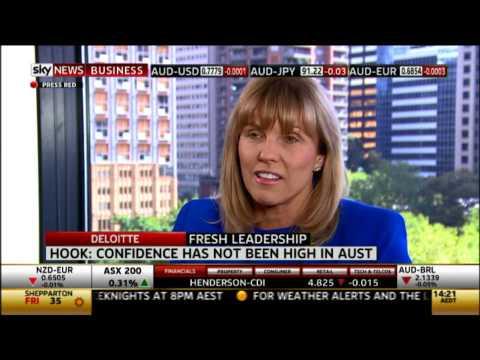 CEO Cindy Hook talks with Sky News