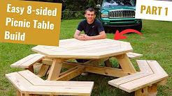 Build an Octagon Picnic Table Part 1