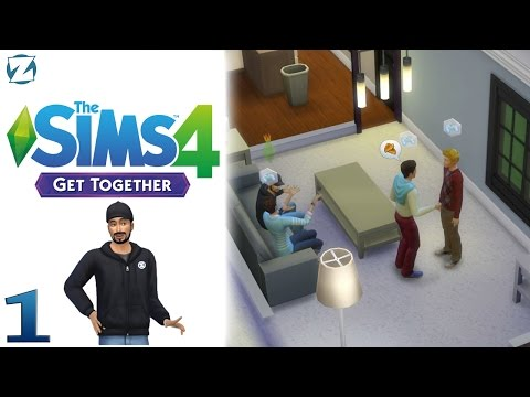 The Sims 4 Get Together Gameplay - Ep 1 - Windenburg Gaming Club (Sponsored Gameplay)