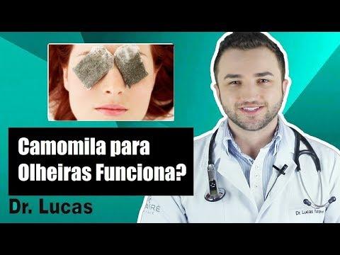 Camomila para Olheiras Funciona?  Dr Lucas Fustinoni