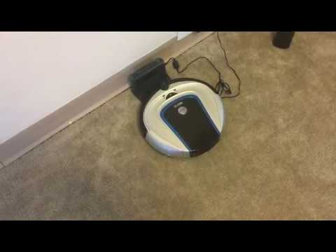 The Hoover Quest700 Robotic Vacuum finds its Docking Station