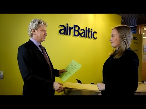 airBaltic Flight Dispatch on the job training