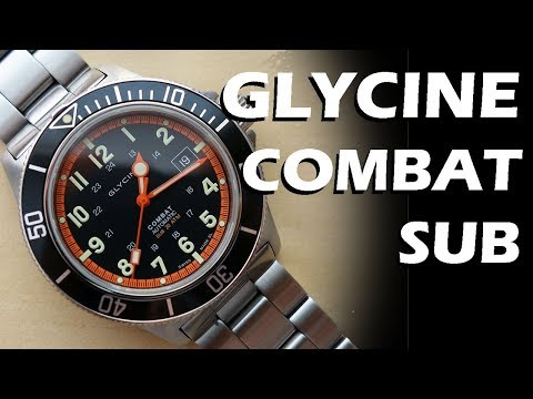 Glycine Combat Sub 3863 Automatic Dive Watch Review - Perth WAtch #68