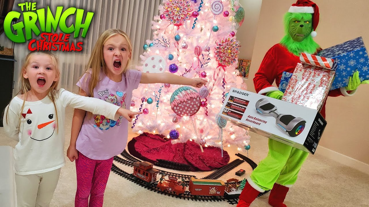 Download The Grinch Stole Our Christmas!! Real Life Grinch Hide and Seek for Presents!