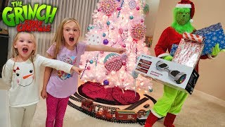 The Grinch Stole Our Christmas!! Real Life Grinch Hide and Seek for Presents!
