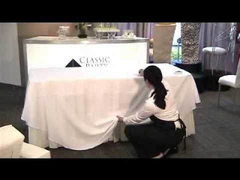 How To Add An Elegant Touch To Your Buffet Table.wmv   YouTube