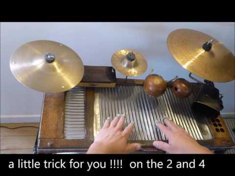 How to play Washboard#Basic One#Swing Ondulé
