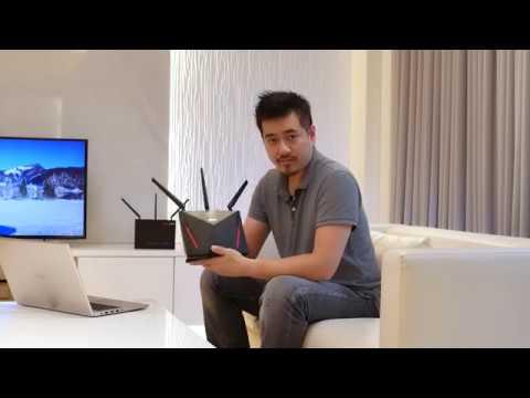 ASUS AiMesh setup tutorial