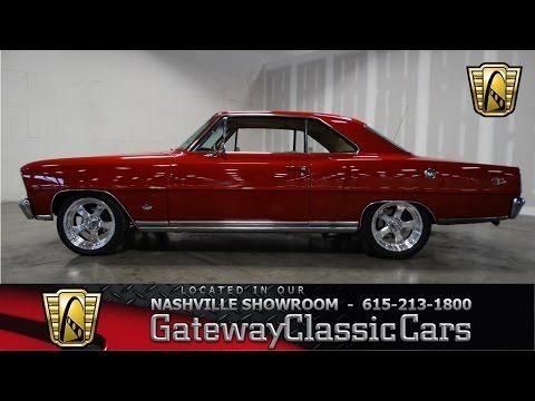 1966 Chevrolet Nova Restomod - Gateway Classic Cars Of Nashville #92