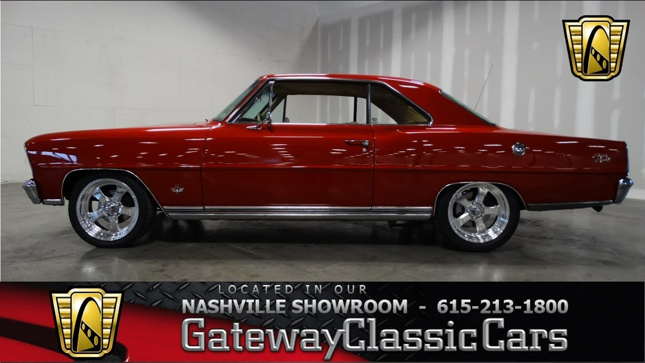 1966 Chevrolet Nova Restomod - Gateway Classic Cars of ...