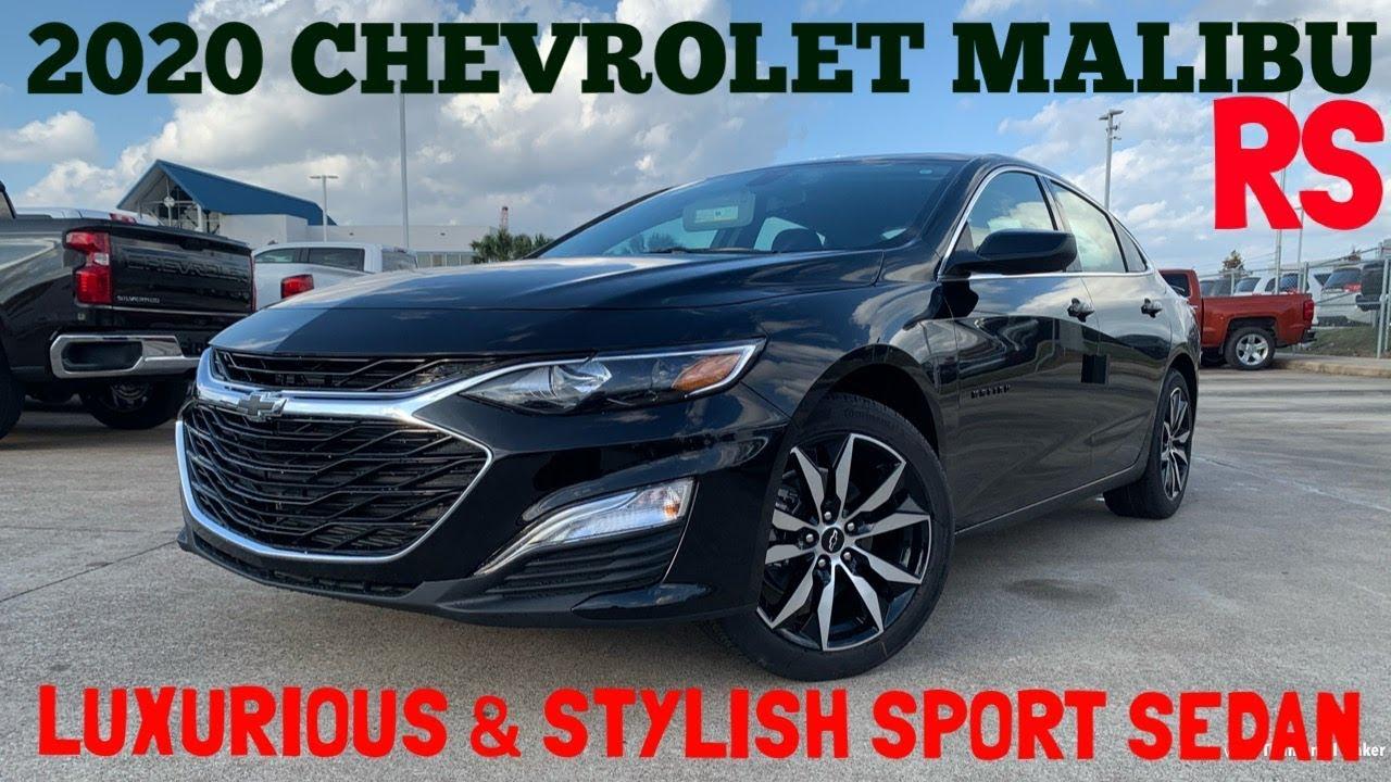 2020 Chevrolet Malibu RS Turbocharged: Review - YouTube