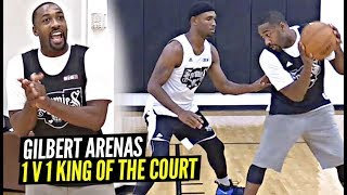 1 v 1 King Of The Court! Gilbert Arenas vs Former NBA Veterans at Big 3! COOKS EVERYONE!