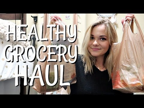HEALTHY COLLEGE GROCERY HAUL