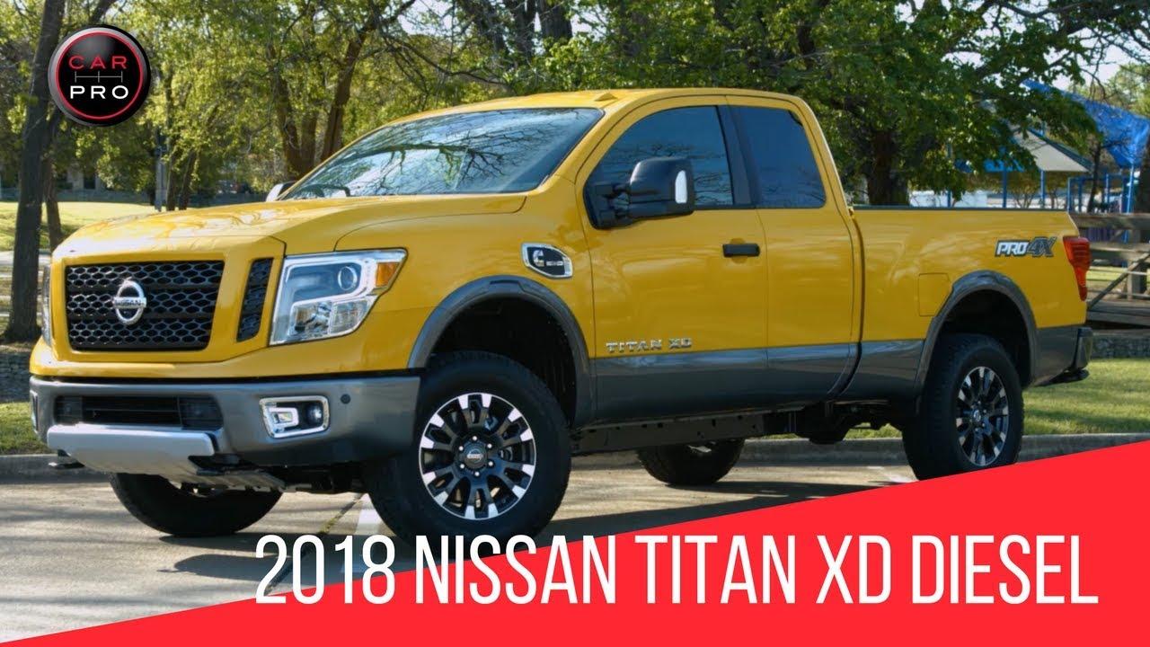 2018 nissan titan xd pro 4x diesel test drive youtube. Black Bedroom Furniture Sets. Home Design Ideas