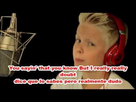Ariana Grande - Problem Ft. Iggy Azalea (Cover By Carson Lueders) (Lyrics & Español)