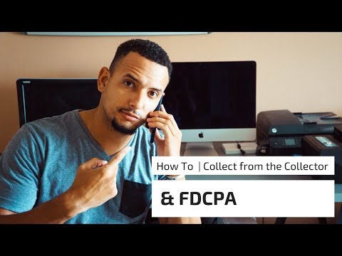 HOW TO COLLECT FROM THE DEBT COLLECTOR !