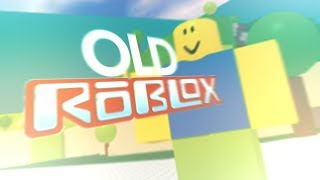 old roblox... (How could ANYONE play this?)