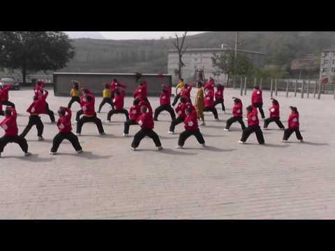 October 17, 2014   Deng Feng Shaolin  Kung Fu School Training, China 1