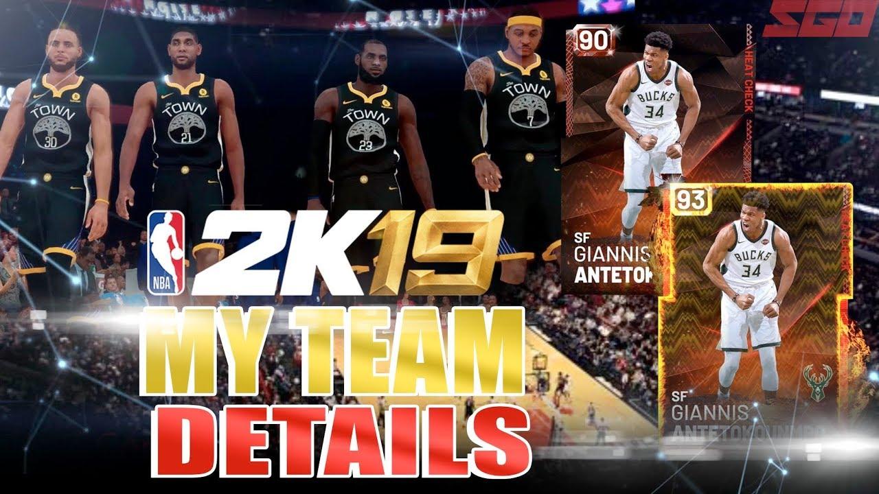 NBA 2K19 MyTeam FULL Details!