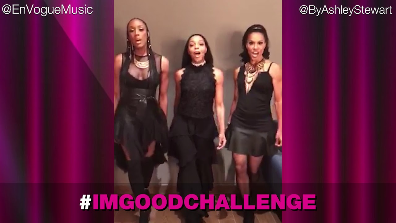 2d7fdb385a8 Ashley Stewart and En Vogue Present The  ImGoodChallenge - YouTube