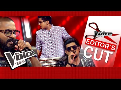 Veenath & Coaches   Sansara Sihine   Blind Auditions   The Voice Teens Sri Lanka