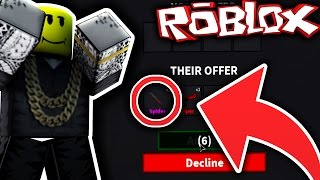 TRADING A HAT FOR A GODLY KNIFE? (Roblox Murder Mystery 2)