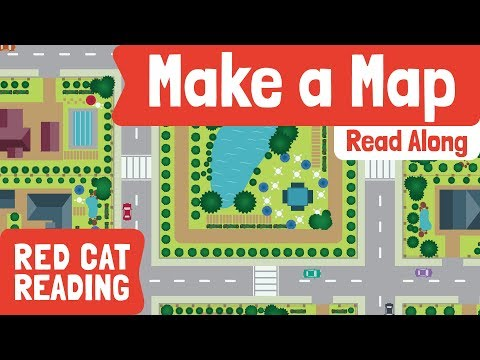 How To Make A Map | Geography For Kids | Made By Red Cat Reading