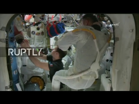 LIVE: NASA astronauts Kimbrough and Whitson conduct ISS spacewalk on